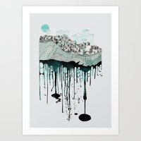 Don't Let It Go To Waste Art Print