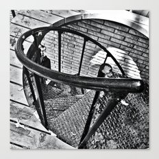 Spiral Staircase II Canvas Print