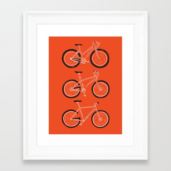 Go Go Go Framed Art Print
