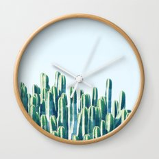 Cactus V2 #society6 #decor #fashion #tech #designerwear Wall Clock