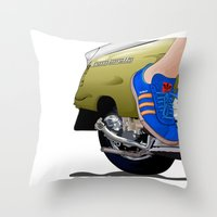 Kick off in style Throw Pillow