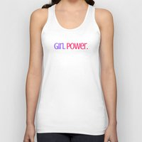 Girl Power. Unisex Tank Top