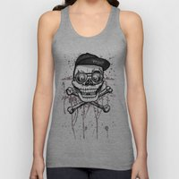 City of despair and good fortune Unisex Tank Top