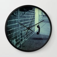 Off The Hook Wall Clock