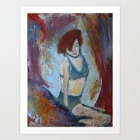 'Burlesque No. 1' Art Print