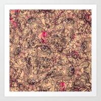 Eyes On You Ii Art Print