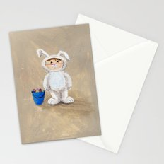 I'm A Rabbit - but I wanted to be a Fireman Stationery Cards