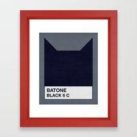 BATONE Framed Art Print