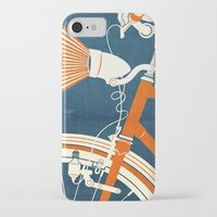 bicycle iPhone & iPod Cases featuring Bicycle Light by Fernando Vieira