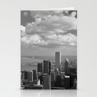 chicago Stationery Cards featuring chicago... by Chernobylbob