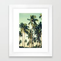 Paradise Print Framed Art Print