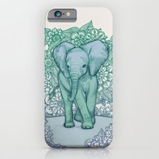 Emerald Elephant in the Lilac Evening iPhone 6 Slim Case