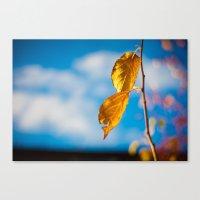 Catchy Autumn Canvas Print