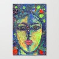 Face#3 Canvas Print