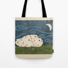 Three Sheeps to the Wind Tote Bag