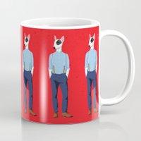 Skinhead Bull Terrier Mug