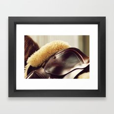 Saddle Up Framed Art Print