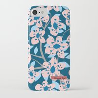 cherry blossom iPhone & iPod Cases featuring Cherry Blossom by Alannah Brid