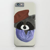 Hip Raccoon iPhone 6 Slim Case