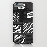iPhone & iPod Case featuring SSSTATIC Redux by Terry Mack