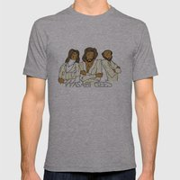Wasabi Gees Mens Fitted Tee Athletic Grey SMALL