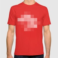 Inappropriate Mens Fitted Tee Red SMALL