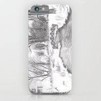 Snowy Landscape iPhone 6 Slim Case