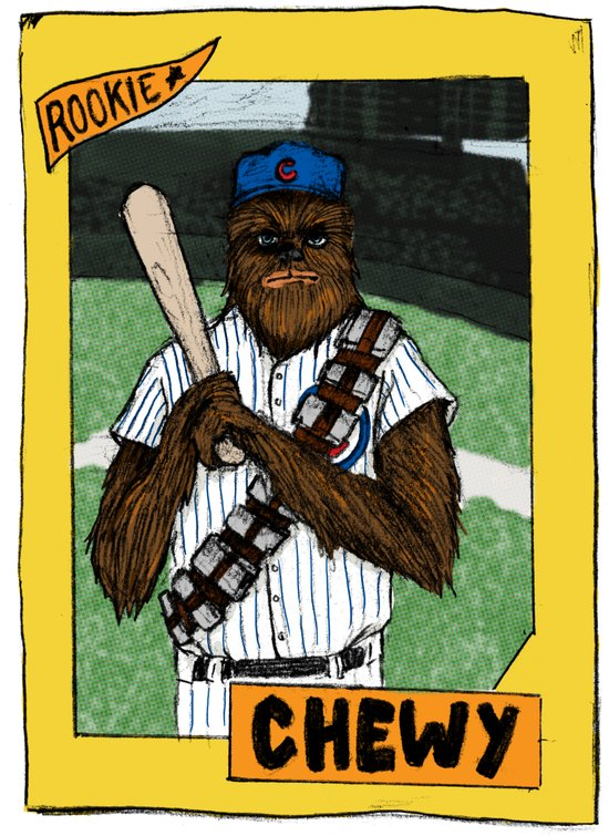 Wookiee of the Year Canvas Print