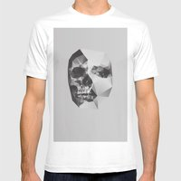 Life & Death. Mens Fitted Tee White SMALL