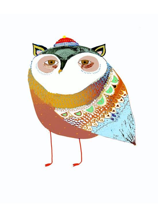 The Sweet Owl Canvas Print