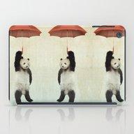 Pandachute iPad Case