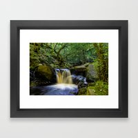 Padley Gorge II Framed Art Print