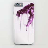 Painted Skull Purple iPhone 6 Slim Case