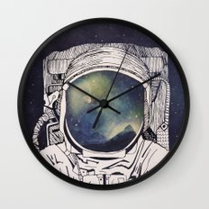 Dreaming Of Space Wall Clock