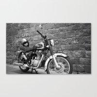 Motorbike. Canvas Print