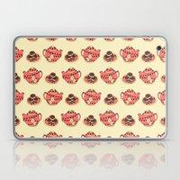 Bunting Tea & Biscuits Laptop & iPad Skin