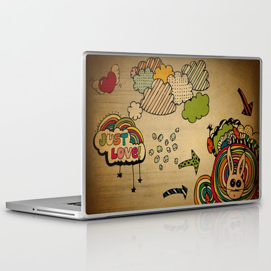 Just Love! Laptop & iPad Skin