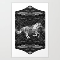 Ciel Du Cheval Art Print