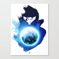 Metroid Prime 3: Corruption Canvas Print
