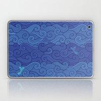 Surf Side - NAVY Laptop & iPad Skin
