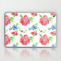 Summer Flowers Laptop & iPad Skin