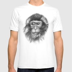 Snow Monkey G2013-069 SMALL White Mens Fitted Tee
