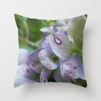 Fairy's Bed Throw Pillow