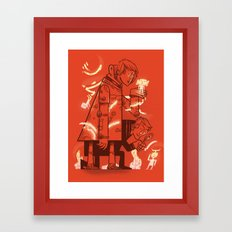 Cross Over Framed Art Print