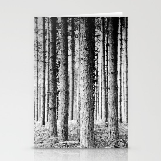 Pine forest Stationery Card