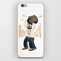 Anger (white Hot Version… iPhone & iPod Skin