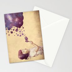 Cosmic Bubbles Stationery Cards