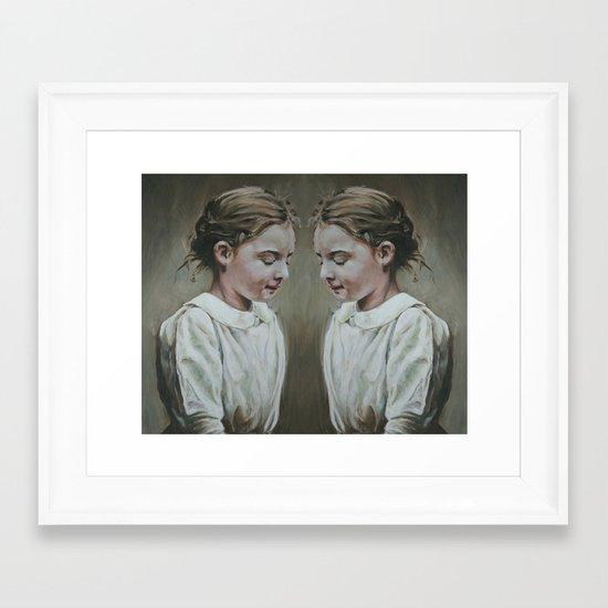 shared memories Framed Art Print