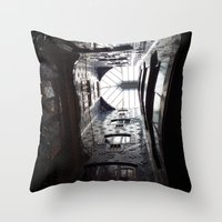 Stairs To Barcelona  Throw Pillow