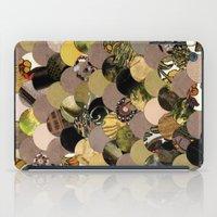 Autumn Scalloped Pattern iPad Case